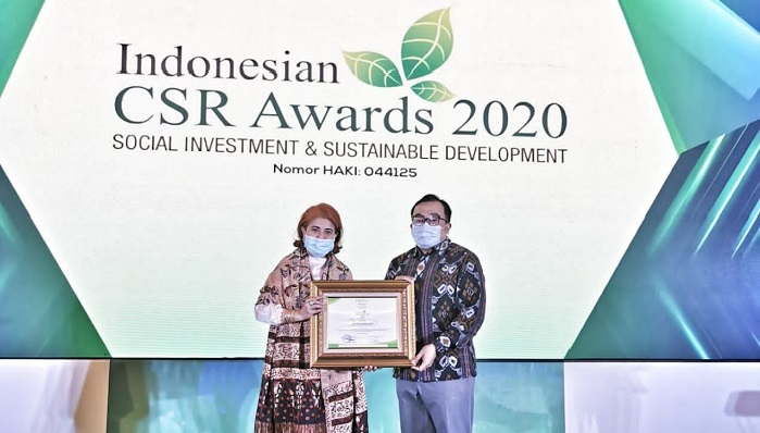 PT GGP Wins Indonesian CSR Award 2020