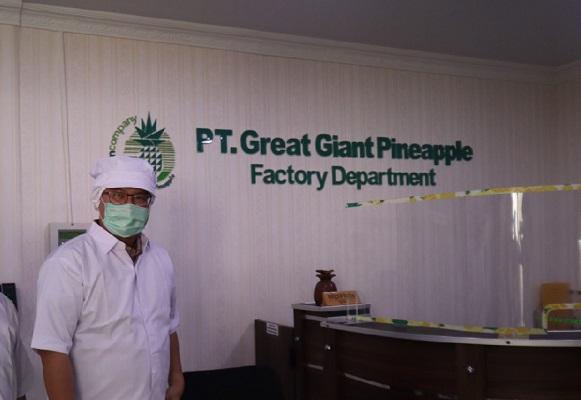 Kunjungan Rektor IPB di PT GGP Disambut Para Alumni