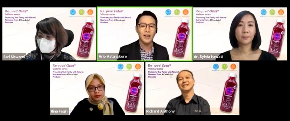 Re.juve Pelopori Produk Berkonsep Clean Label di Indonesia