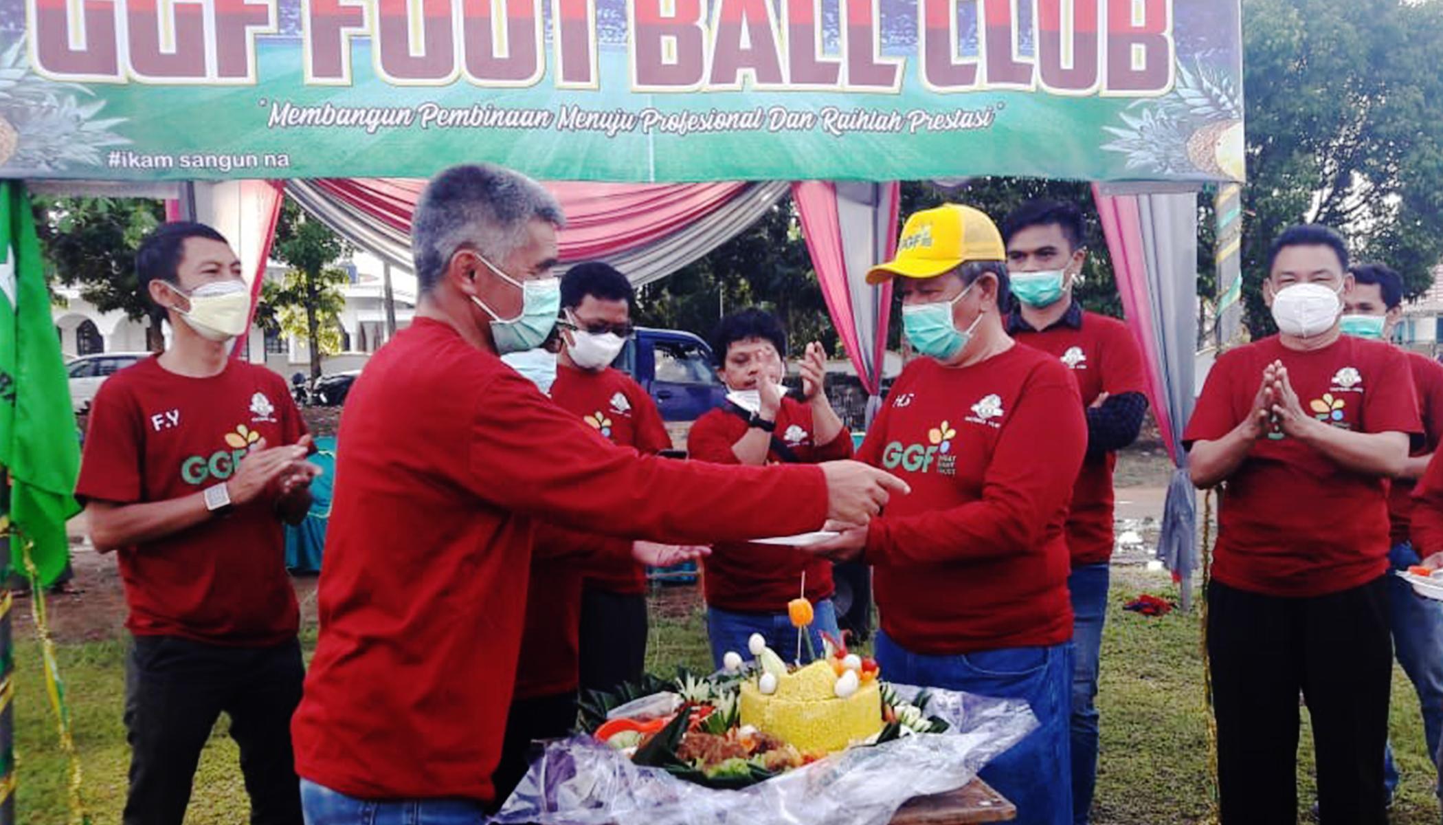 Peresmian GGF Football Club : Menuju Profesional dan Meraih Prestasi